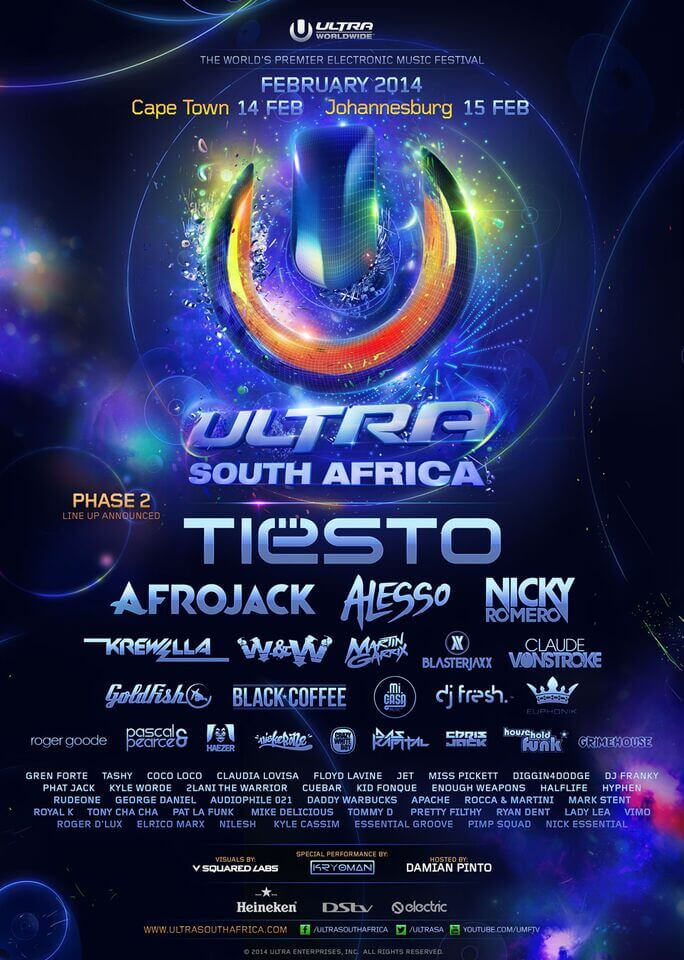 Previous Lineups - Ultra South Africa