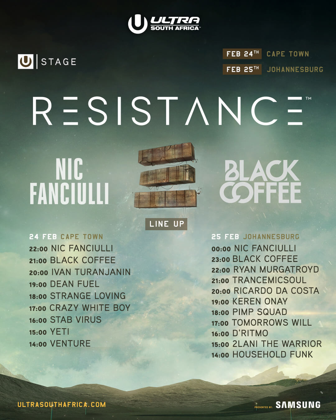 Resistance Lineup