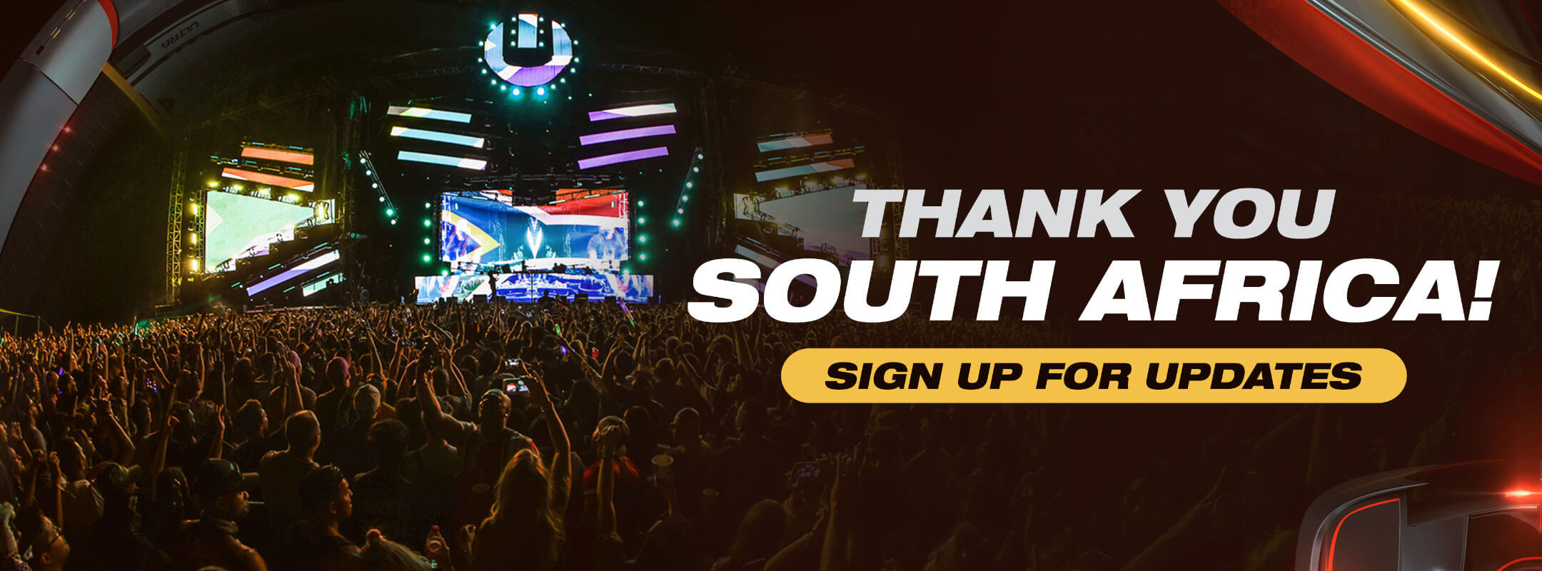 Subscribe for Updates to Ultra South Africa
